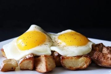 Breakfast Potatoes and Eggs
