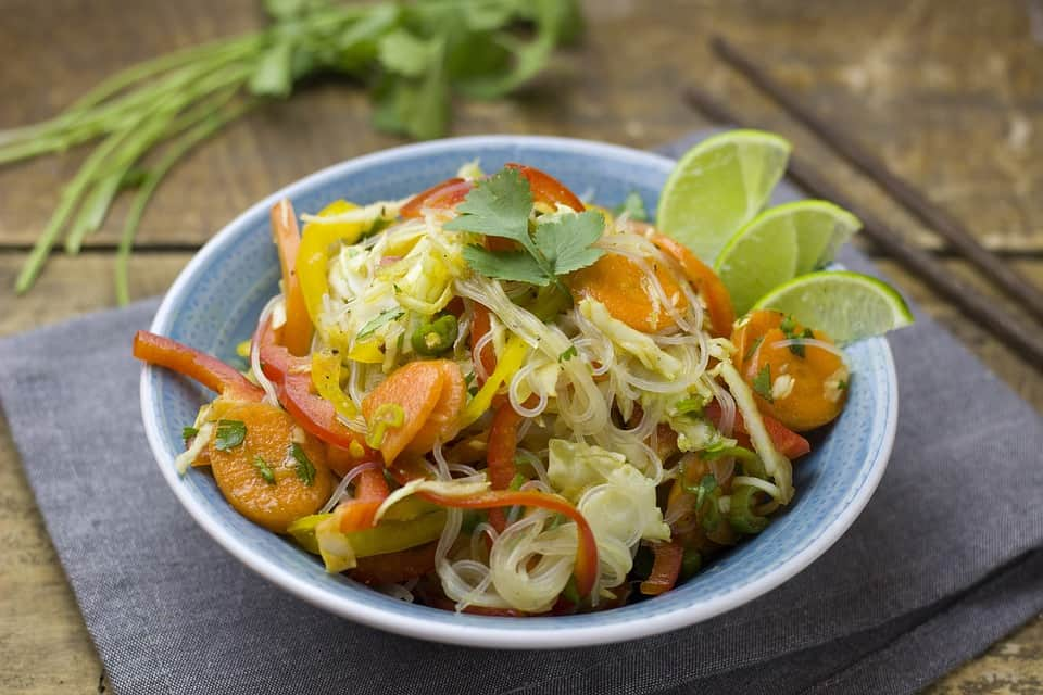 Asian Veggie Glass Noodle