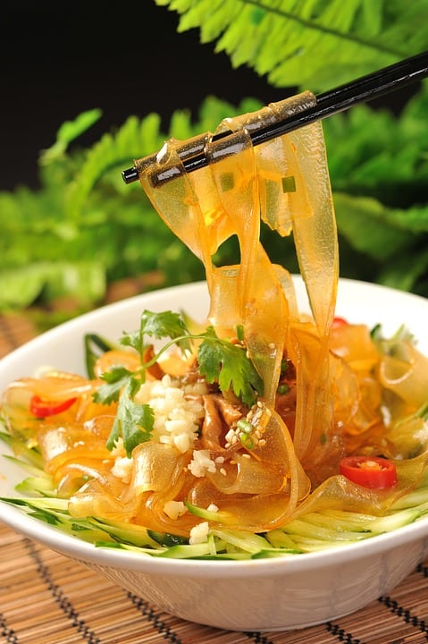 Wide Glass Noodles